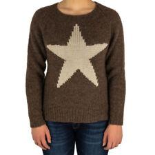 Damen-Pullover & -Strickware aus Wolle mit Sterne Normalgröße