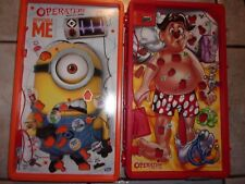 OPERATION SKILL GAME + MINION OPERATION BOARDS ONLY NO PIECES(WORK)