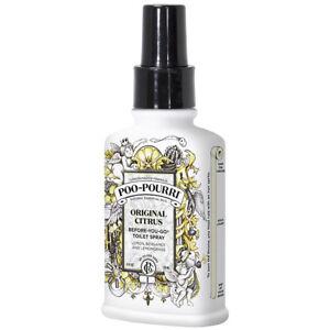 Poo Pourri Original Toliet Bathroom Spray Lemon Scent- 4oz/118ml