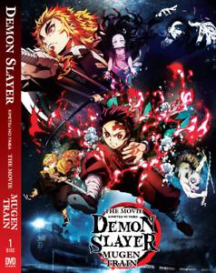 Anime Demon Slayer Kimetsu No Yaiba The Movie: Mugen Train English DVD Box Set