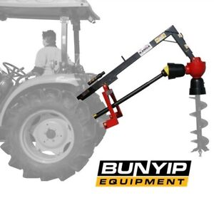 KANGA POST HOLE DIGGER- H RANGE WITH 3 POINT LINKAGE SUITS AUGERS UP TO 610MM