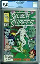 SILVER SURFER #v3 6 CGC 9.8 WHITE PAGES NEW CGC CASE NEVER CIRCULATED Marvel