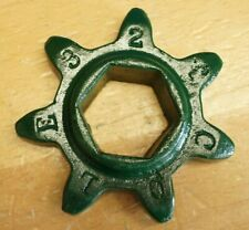 Cole Charlotte NC 1 Row Corn Cotton Planter 7 Tooth Chain Distance Sprocket Hex