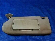 INFINITI G35 SEDAN LEFT DRIVER SIDE SUNVISOR SUN VISOR # 40642
