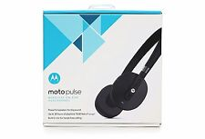 Original Motorola Moto Pulse Wireless Stereo Headset Headphones 18 Hours Black