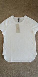 Sweaty Betty Breeze Running Tshirt Size S White