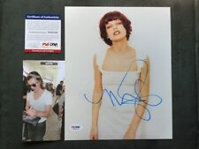 Milla Jovovich Hot! signed 8x10 photo PSA/DNA cert PROOF!!
