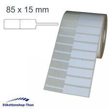 Schmucketiketten /  Juwelieretiketten auf Rolle - 85 x 15 mm - 2.500 Stück
