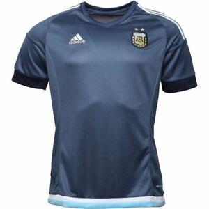adidas Mens AFA Argentina Away Shirt Night Marine/White NEW