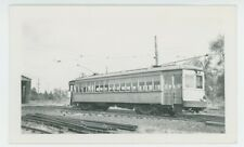 1930s Stark Electric Railroad Co. #17 Streetcar Trolley Traction Ohio OH
