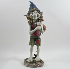Large Pixie with Bindall Garden Magic Decor Outdoor Fairy Elf Gift H33cm 39138