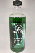 Village Naturals Stress Therapy Foaming Mineral Bath Oil 16 Oz Free Shipping