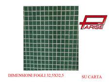 Mosaico pasta di vetro su carta rivestimento ceramica verde chiaro 1,05mq 10 pz.