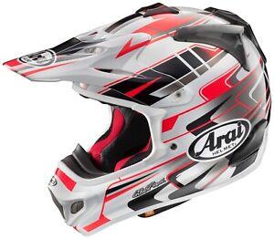 ARAI VX-PRO4 Tip Graphic Red Motorcycle Helmet • XS (53-54cm)