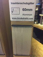 Insektenschutzband Insektenschutzgitter Lüftungsprofil aus ALU 60-30/30mmx1,0m