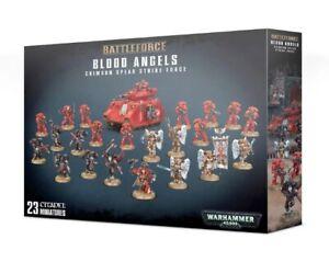 Warhammer 40K Space Marines Blood Angels Crimson Spear Strike Force