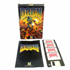 Mail Order DOOM per ID Software per MS-DOS, 1993, BIG BOX, TIRATORE, FANTASCIENZA