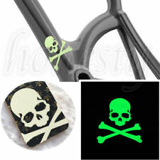 Glow In The Dark Skull Decor Vinyl Decal Sticker for Bike Car Door Fridge Window