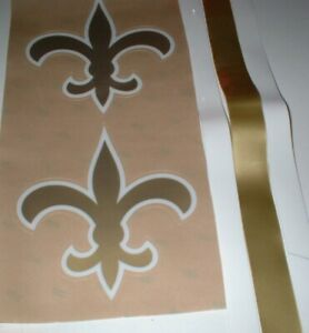 NEW ORLEANS SAINTS FULL SIZE FOOTBALL DECALS