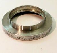 """Kodak series 6 VI Adapter 1 1/4""""  slip on  to 44.5 mm  Filter Ring"""