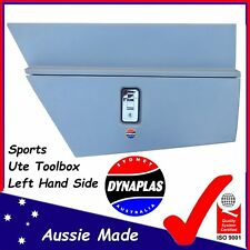 LEFT HAND SIDE SILVER SPORTS UTE TOOL BOX UNDERBODY POLY TOOLBOX 4X4 4WD UTES