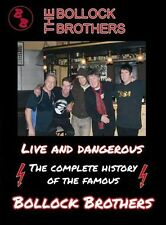 THE BOLLOCK BROTHERS - LIVE AND DANGEROUS  DVD NEU