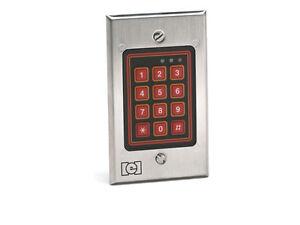 IEI 232iLM-BZ Style Mullion Mount Backlit Keypad 0-230801