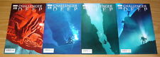 Challenger Deep #1-4 VF/NM complete series nuclear submarine in marianas trench
