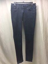 Levi's 535 Leggings Jr Size 9 Dark Blue Wash - EUC
