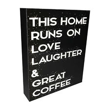 INSPIRATIONAL WOODEN SIGN / PLAQUE - FREE STANDING OR HANGING - QUOTE -GIFT