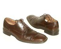 Florsheim Plain Toe Blucher Brown Vintage Dress Shoes Brand MENS 11 Classic