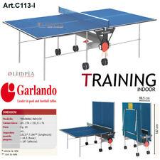 GARLANDO - Ping Pong TRAINING INDOOR BLU + 6 PALLINE OMAGGIO - GARANZIA ITALIA