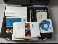 Chevron Dotfast Service Drip Oil Analyzer Microman Mf100 Jenway Dc 5v 500mw