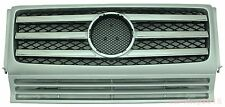 W463 90-12 Front Grille Mercedes Benz G-Class G500 G550 G55 AMG Chrome & Silver