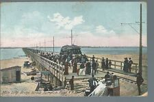Hampton River Wood Bridge Connects Salisbury MA & Hampton Beachs NH Postcard...