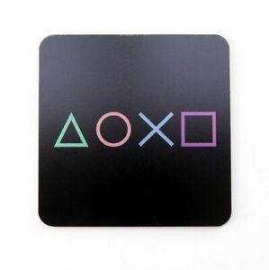 PlayStation Symbols Gaming Coaster - Printed Acrylic - Gaming Room Accessory