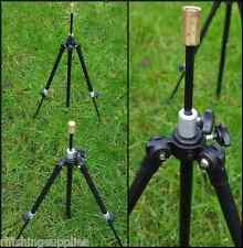 2 X CARP FISHING MINI TRIPODS ROD RESTS FULLY ADJUSTABLE WITH EXTENDABLE LEGS