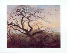 Caspar David Friedrich cuervos en un árbol póster son impresiones artísticas imagen 56,1x71,2cm