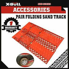 X-BULL Pair Sand Track Recovery Tracks Mud Snow Grass 4WD ATV Tyre Ladder Red