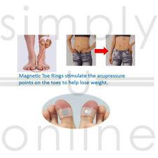 1 Par De Silicona Suave Magnético Anillo del dedo del pie mantener la pérdida de peso dieta delgado Fitness