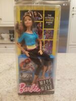 Barbie Made to Move Doll new with open box