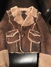 Diesel Shearling Jacket ~ Women's ~ Aviator~ Coat ~ Sheepskin ~ Size M