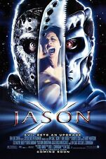 Jason X - Friday the 13th - Jason Voorhees - A4 Laminated Mini Poster