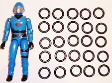 G I JOE COBRA FIGURE BODY REPAIR REPLACEMENT PART    NEW O RING  ORINGS  25 X
