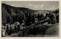 Friedrichroda Thüringen alte DDR Ansichtskarte 1956 gelaufen Blick in den Grund