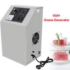 Edelstahl Ozongenerator 5G/H Ozonator Luft Wasserfilter Nagelneu