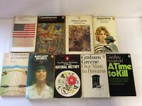 x9 Mixed Selection Vintage Penguin Paperbacks - Needle's Eye - American Poetry