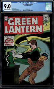 GREEN LANTERN #32 CGC 9.0 ISSUED 1964 OWW PAGES CGC #1399071001