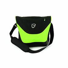 "Fusion F1 Laptop Courier Green - 13"" - 15"" Laptop Messenger Bag Shoulder Strap"