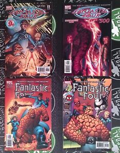 Fantastic Four #489-524 2002-05 Marvel Waid & Wieringo Complete Run + Spider-Man